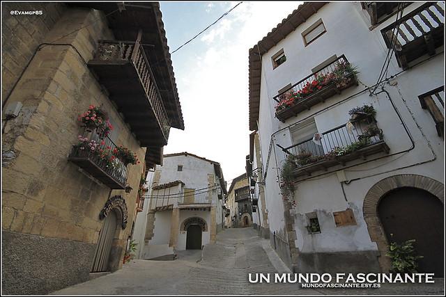 Calles de Peñarroya de Tastavíns