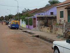 Morgendämmerung, Wohnviertel