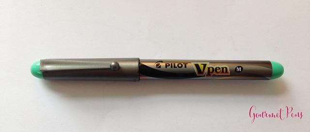Review Pilot VPen Fountain Pen - Light Green @PilotPenUSA @JetPens (3)