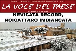 Noicattaro. Prima pagina n. 1-2015 front