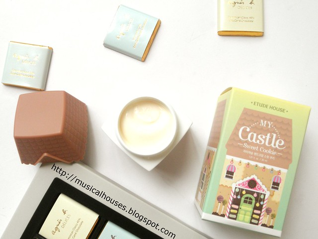 Etude House My Castle Hand Cream Sweet Cookie Sweet Vanilla Fragrance