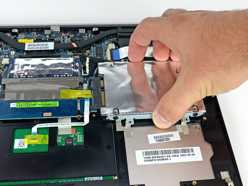 Ultrabook accès HDD