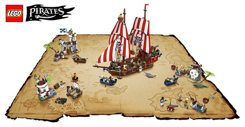 LEGO Pirates III (2015) sets map from www (max) 8studs