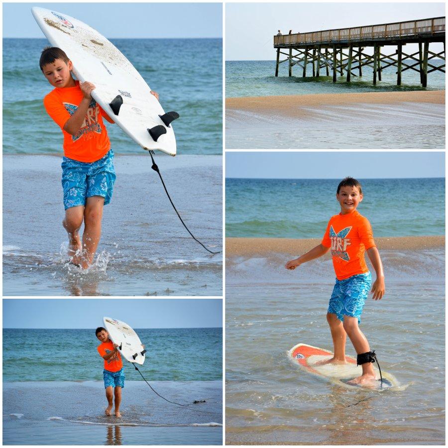 nick surfboard