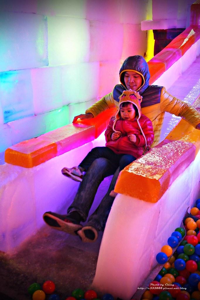 台中高鐵-2015正宗哈爾濱冰冰燈冰雕展-55