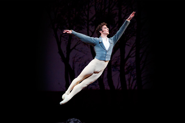 Johannes Stepanek in Onegin © ROH / Bill Cooper 2010
