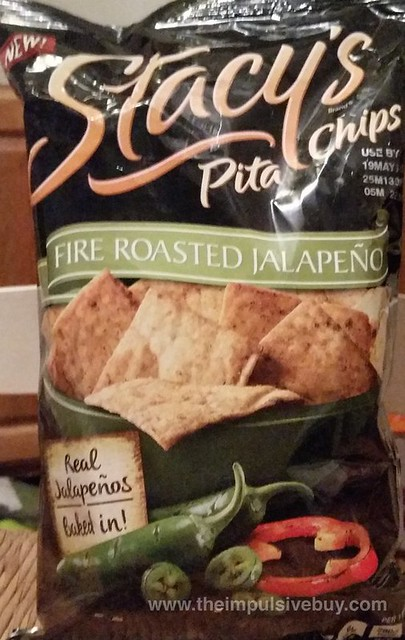 Stacy's Fire Roasted Jalapeno Pita Chips