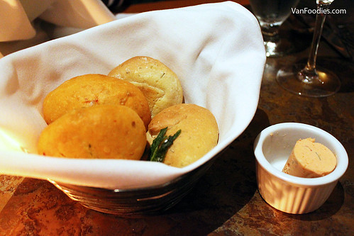 House Made Bread with Smoked Wild Salmon Butter