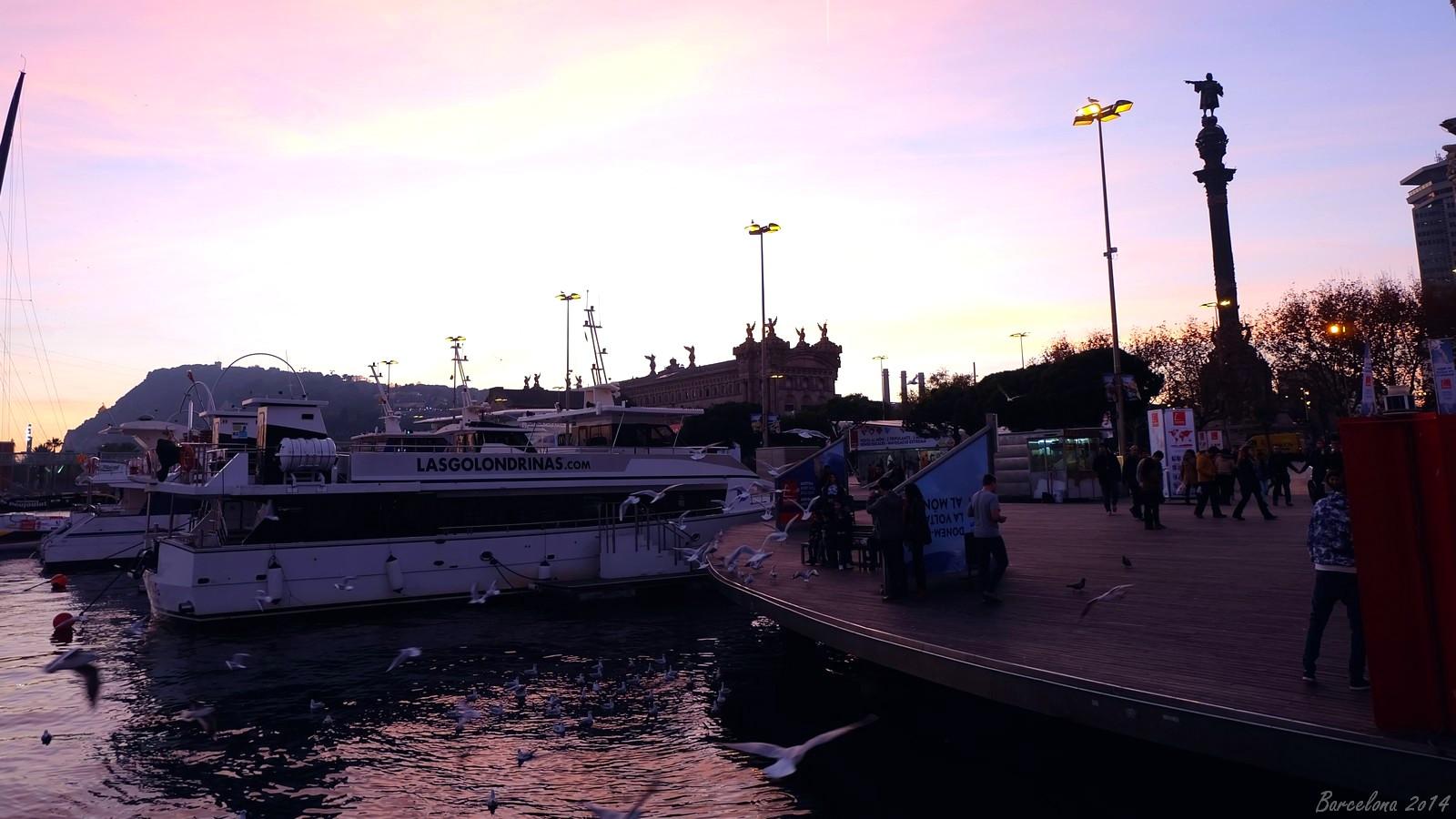 Barcelona day_1, Rambla de Mar