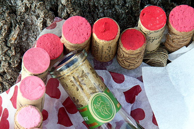 how to get a cork out from inside a bottle