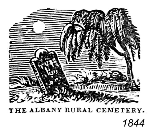 albany rural cemetery 1844