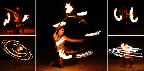 Fire Dancer - Tamarindo beach