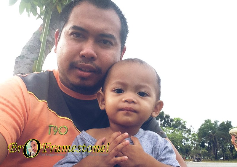 Beriadah di Taman Permainan Bandar Tasik Puteri, Rawang
