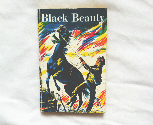 vivatramp book blog uk lifestyle blogger uk secondhand book haul black beauty anna sewell