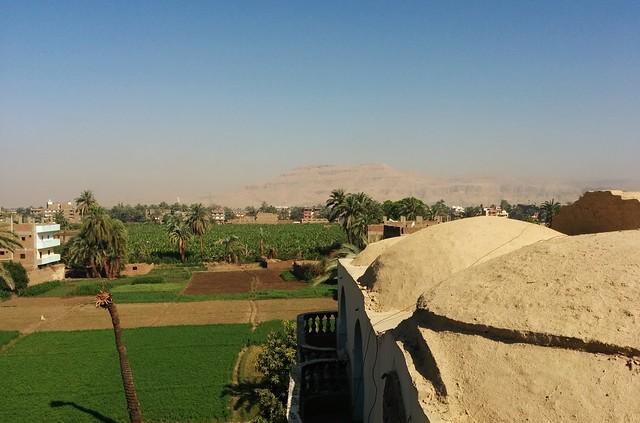 Cleopatra Hotel's Balcony View