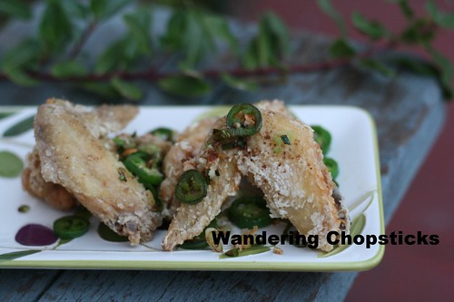 Chinese Deep-Fried Chicken Wings with Spicy Salt 9