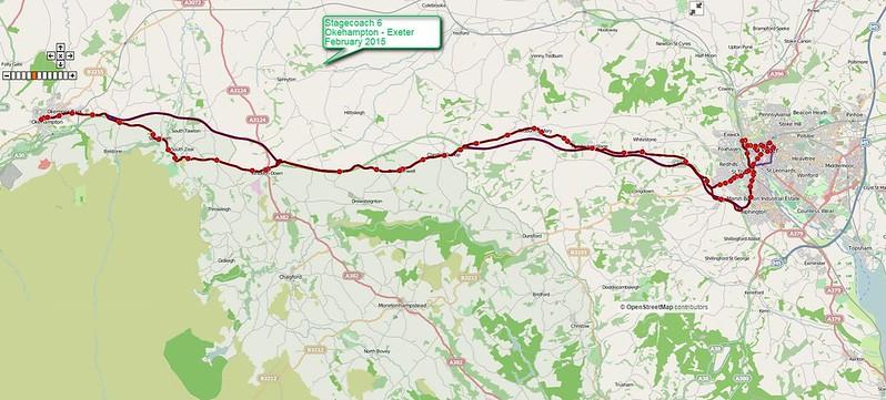 Stagecoach 6 Okehampton - Exeter
