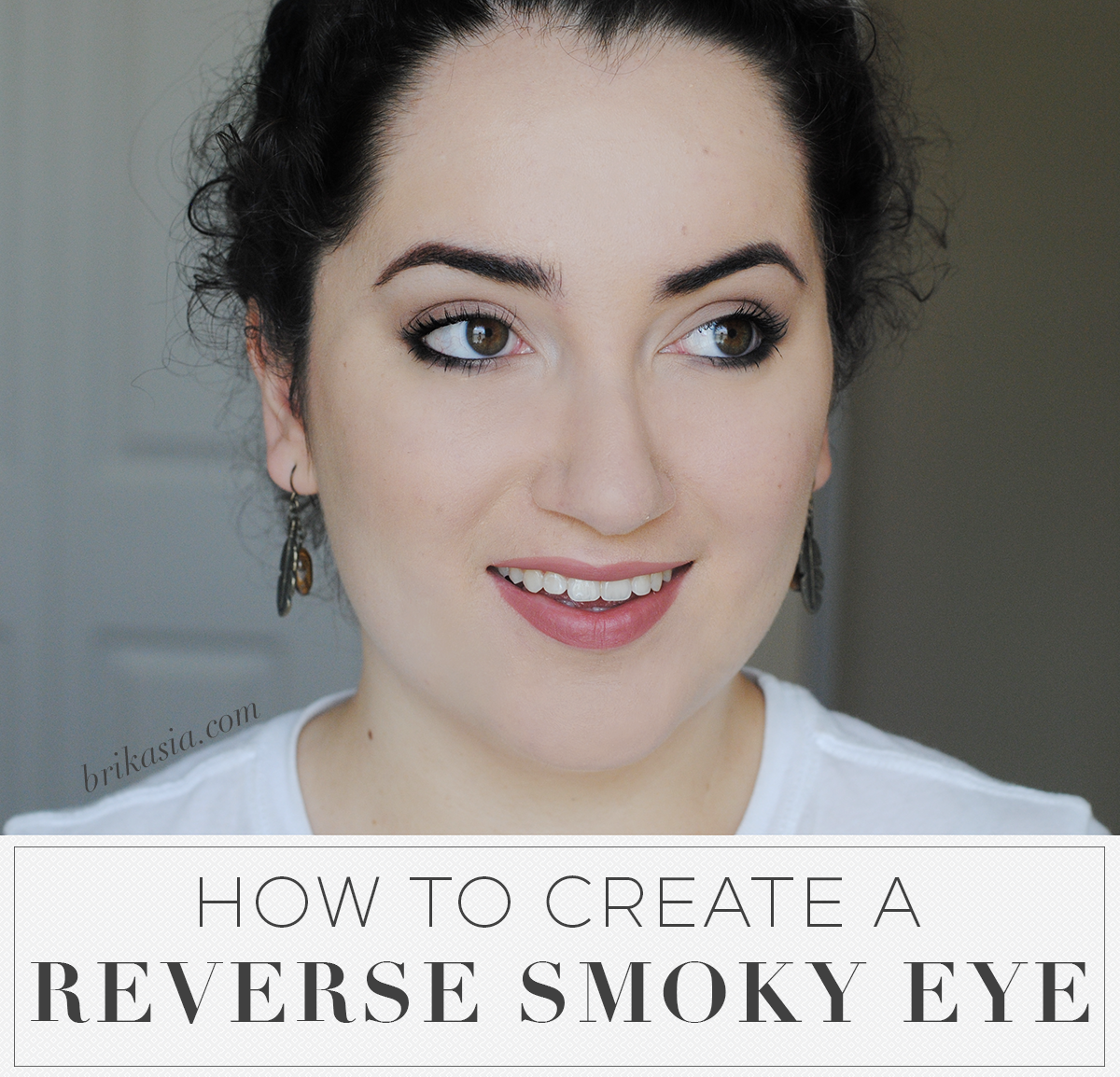 How To Create a Reverse Smoky Eye, smoky eye for hooded eyes