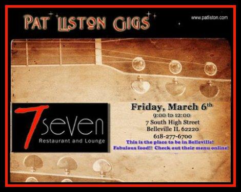 Pat Liston 3-6-15