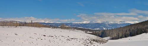Snow Mountain Ranch Panorama