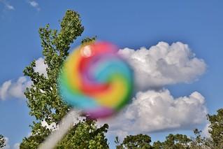 A Lollipop Outside
