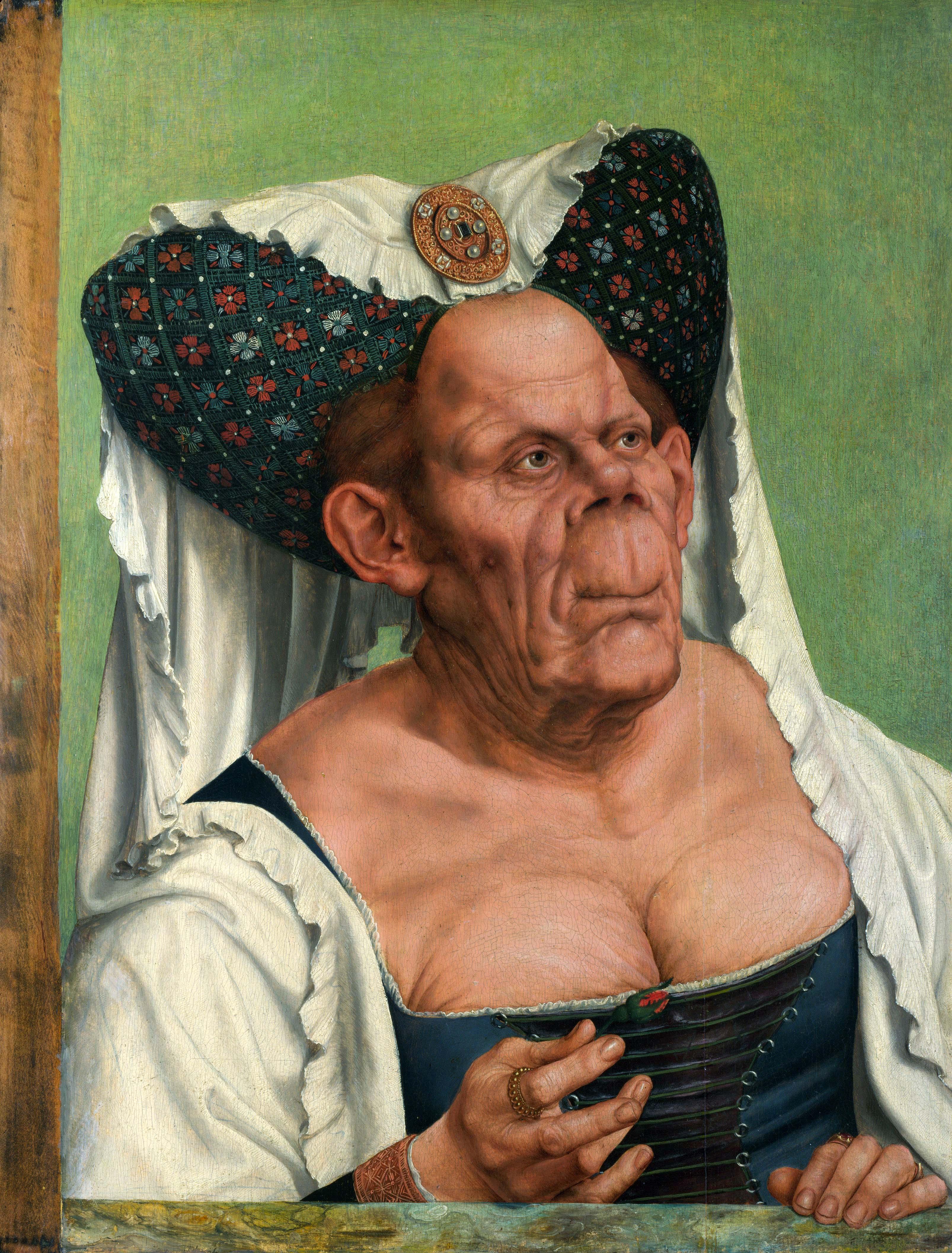 Quentin Massys, Eine groteske alte Frau, ca. 1513--1530