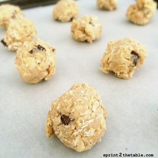 Banana Jam Oatmeal Cookies
