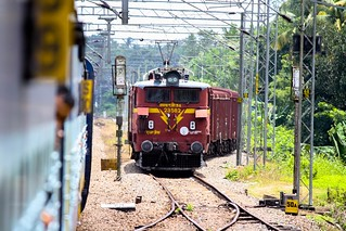 Indian Railway, Kerala, India