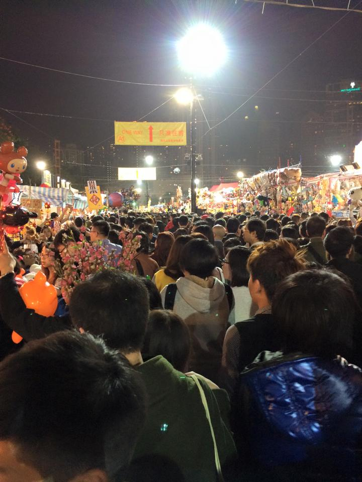 Hong Kong Lunar New Year Market