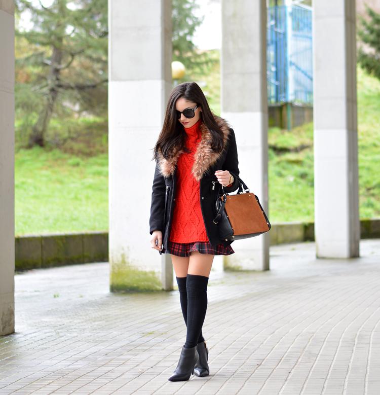 Zara_ootd_outfit_botines_tartan_choies_mango_abrigo_07