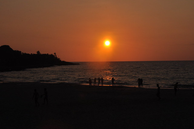 Suso Beach Sunset