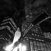 Chicago Riverwalk Look Up by benchorizo