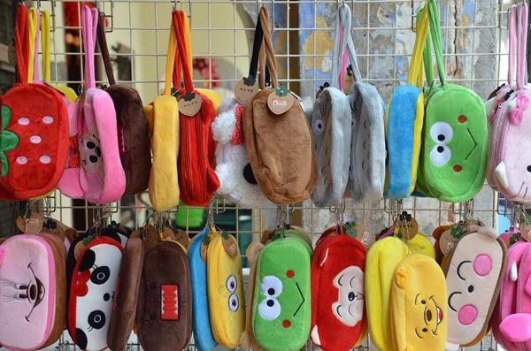 Cute Colourful Pouches