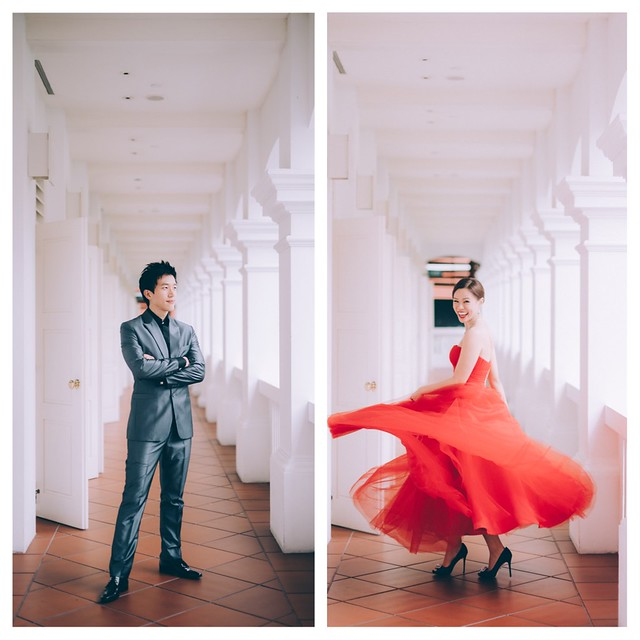 chih chwen, allison, lovescapade, pre wedding, engagement shoot, wedding scoop, singapore, multifolds, silhouette the atelier