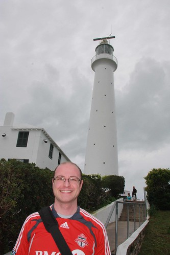 Gibbs Hill Lighthouse and Dan
