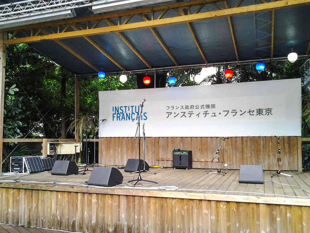 パリ祭@アンスティチュ・フランセ東京 ステージ