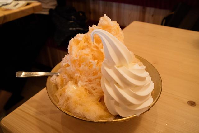 コメダ珈琲 かき氷