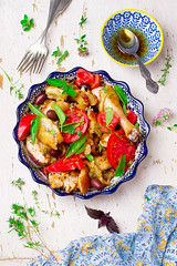 Chicken panzanella