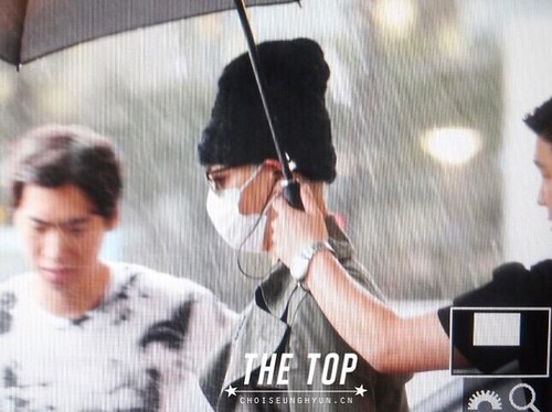 Big Bang - Incheon Airport - 26jul2015 - The TOP - 03