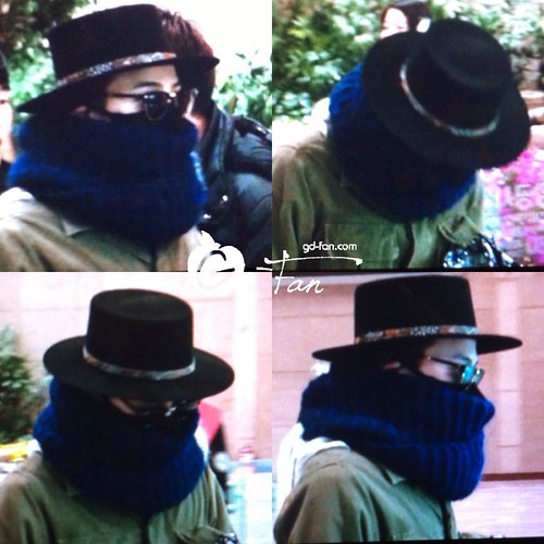 Big Bang - Gimpo Airport - 27feb2015 - G-Dragon - GD Fan - 03