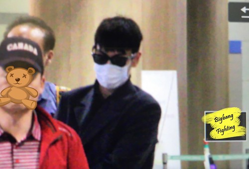 Big Bang - Incheon Airport - 27mar2016 - BigbangFighting - 09