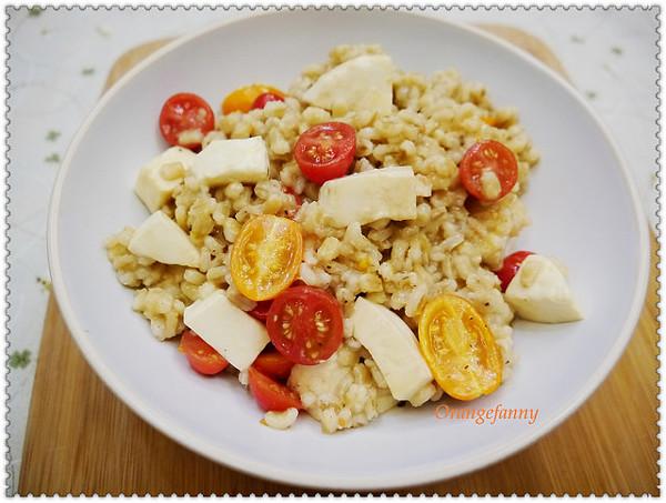 蔬果派對|番茄珍珠麥沙拉