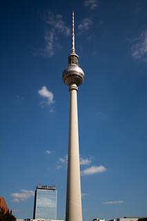 Image of Fernsehturm Berlin near Mitte. berlin deutschland de fernsehturm