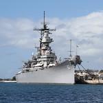 Изображение USS Missouri вблизи Hickam Field. hawaii honolulu pearl harbor usa