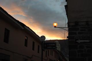 Sunset, Huamanga, Ayacucho, Peru