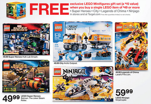 Target LEGO Minifigures Gift Set