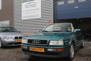 Audi 80 Cabriolet - 2.3i Aut. LEER/NIEUW DAK