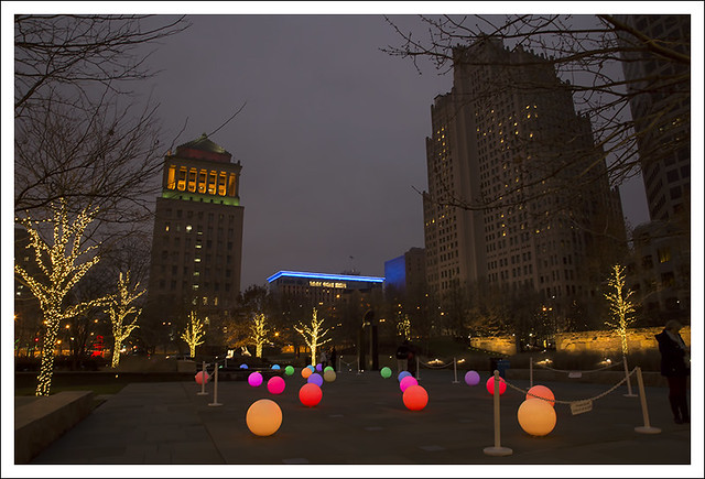 Citygarden Christmas Decorations