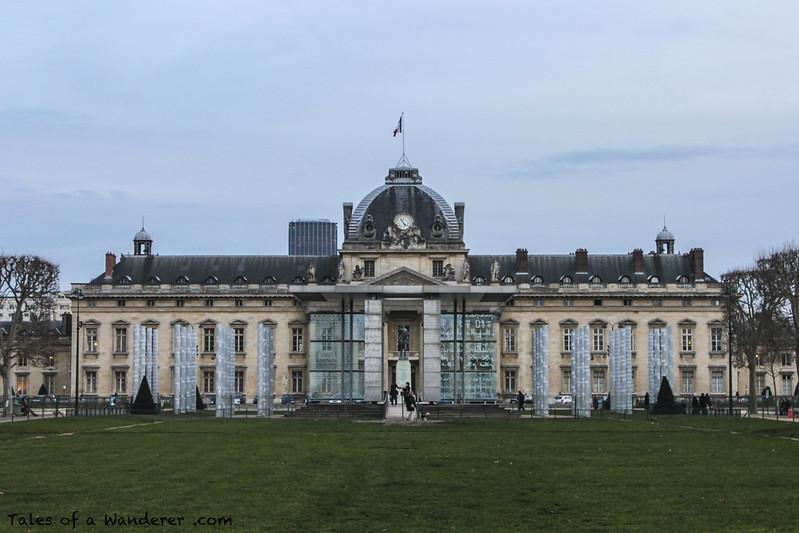 PARIS - Champ-de-Mars - École militaire