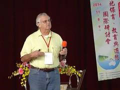 美國專家James E. Perry分享對於台灣濕地復育工作之建議(圖片來源:嘉義林管處提供)